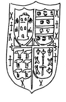 Escudo del palacio de Omaña en Salas
