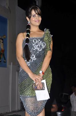 Stylish with rosy chicks Anasuya hot telugu tv anchor