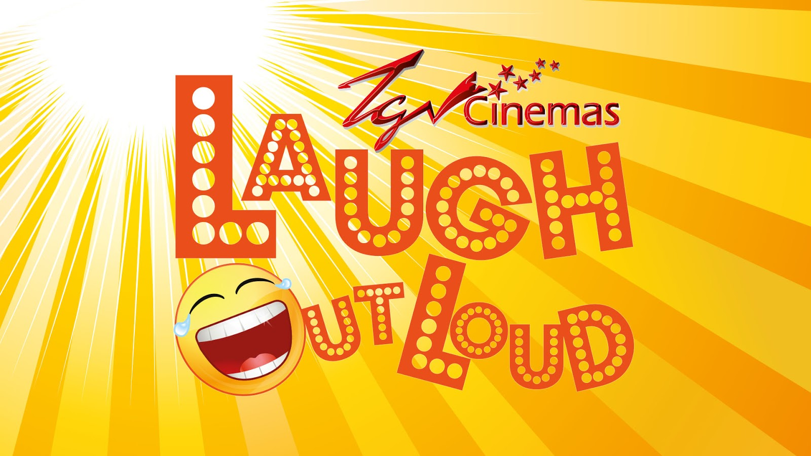 Crack Up Laughing With TGV Laugh Out Loud Month
