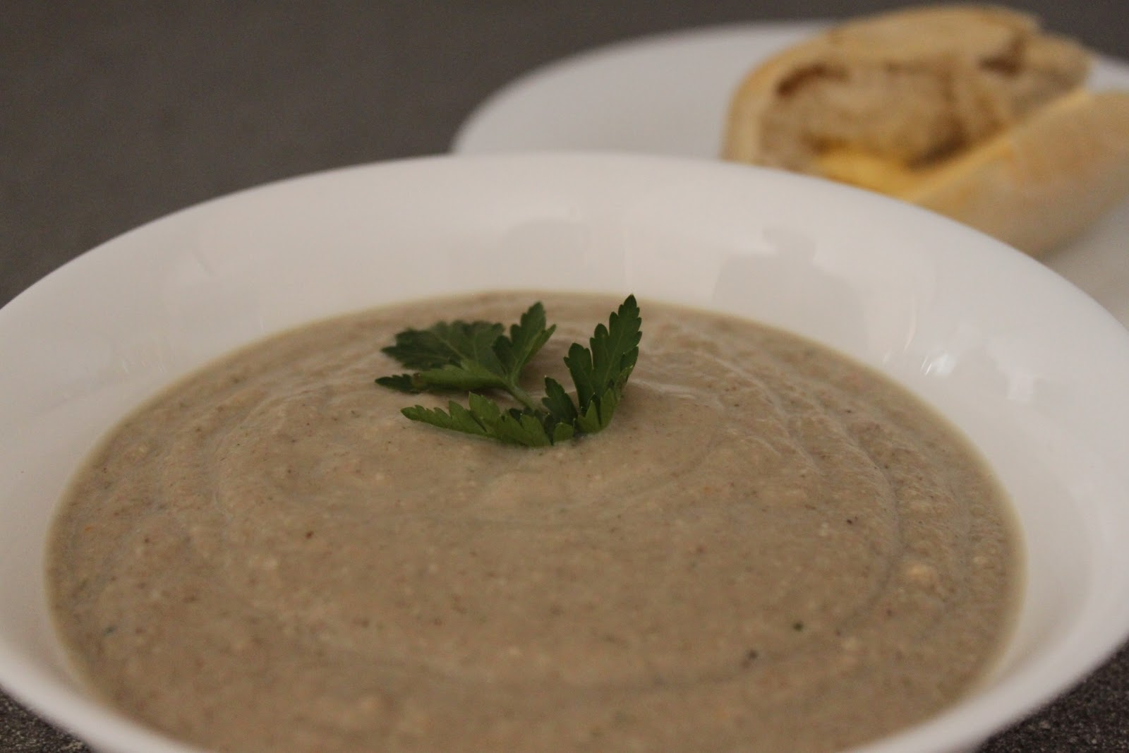 vegan cream of mushroom soup amuse your bouche. Black Bedroom Furniture Sets. Home Design Ideas