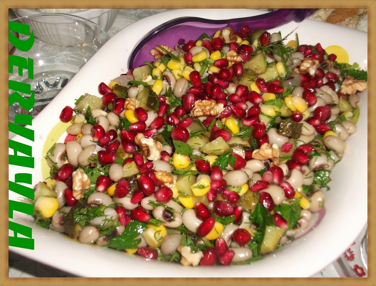 Kuru Börülce Salatası Tarifi