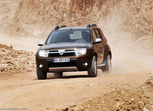 SUV Dacia Duster um 500 Euro guenstiger