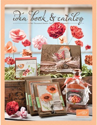Stampin' Up! 2011-2012 Idea Book & Catalog Cover Art