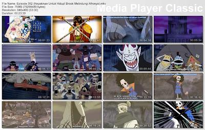 Download Film One Piece Episode 352 (Keyakinan Untuk Hidup! Brook Melindungi Afronya) Bahasa Indonesia