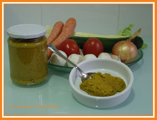 La cuchara caprichosa concentrado de caldo vegetal casero for Cuchara para consome