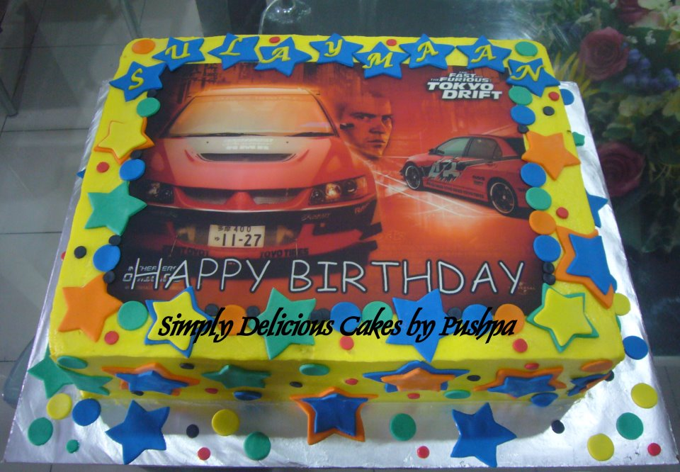 fast and furious cakes