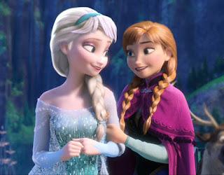 Gambar Elsa dan Anna Frozen wallpaper 6