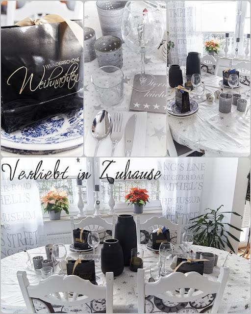 Festlicher Tisch für Heiligabend