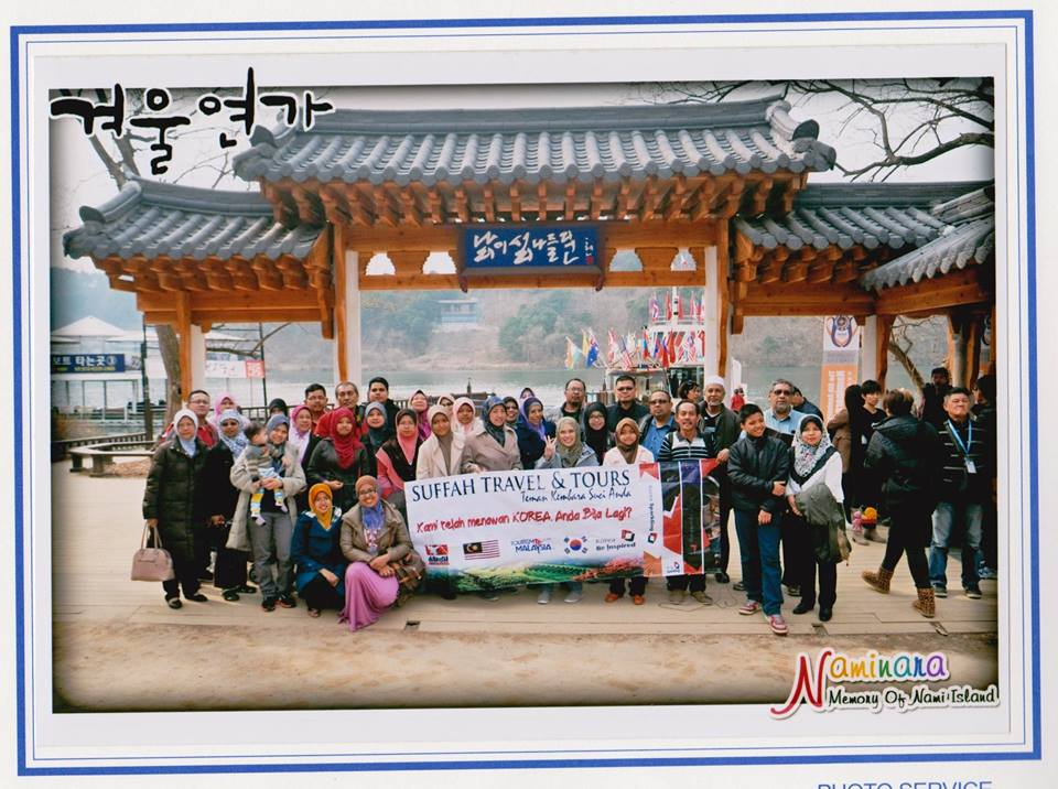 GROUP SUFFAH DI PULAU NAMI, KOREA