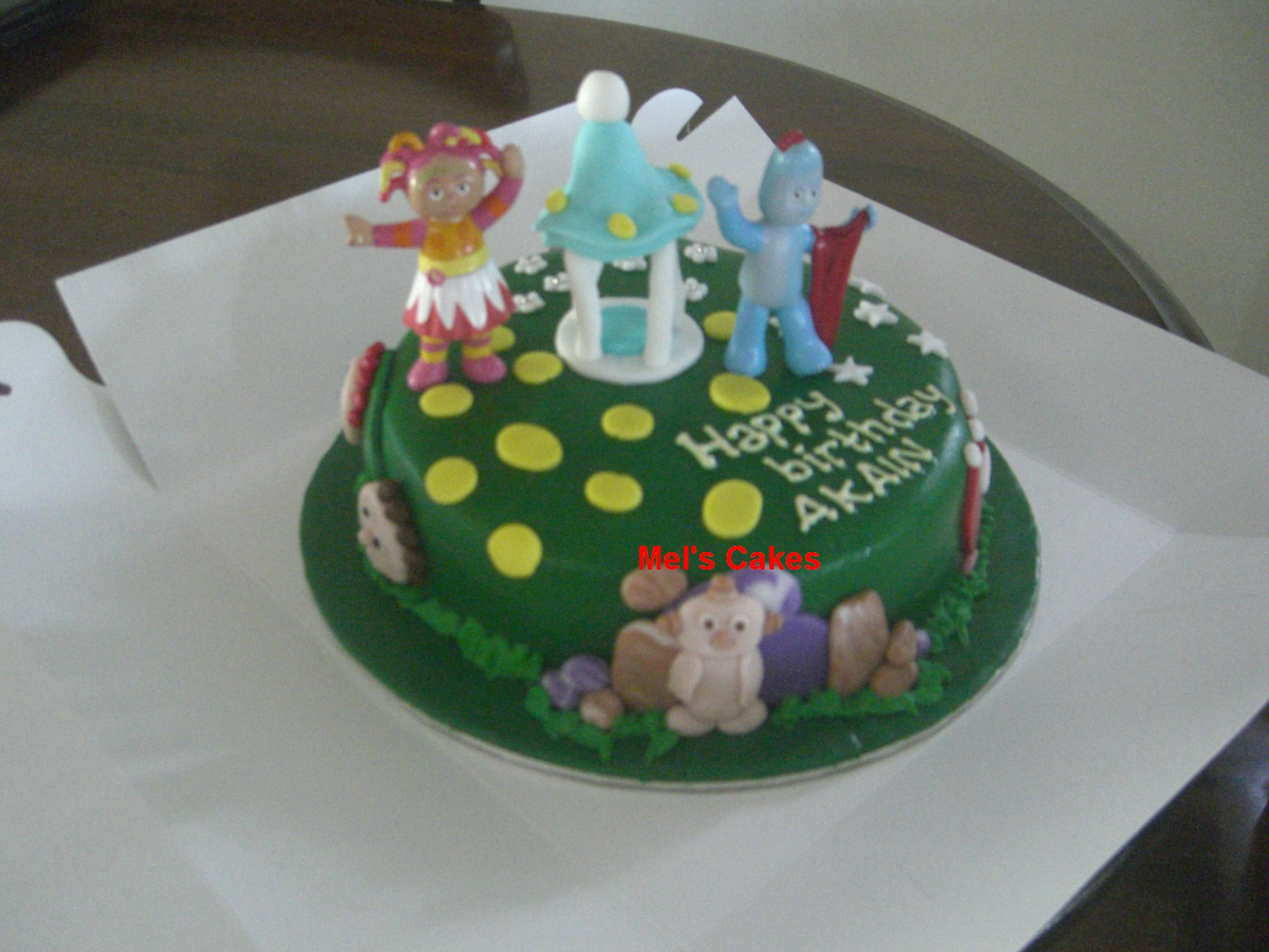 Welcome to Mel\'s Cakes: In The Night Garden Birthday Cakes
