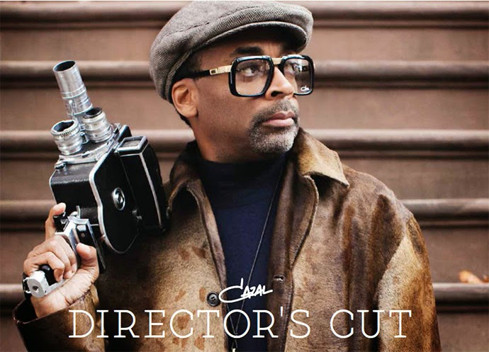 Cazal 2014 lookbook - The Director's Cut, featuring Spike Lee