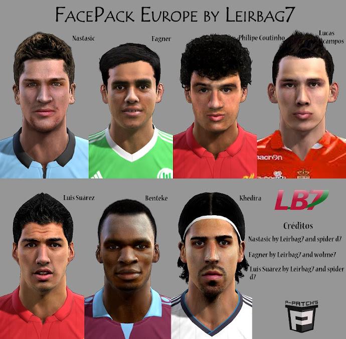 Europa Facepack V.2 - PES 2013