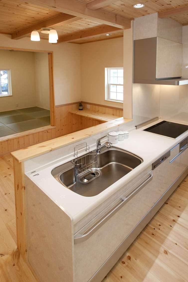 地熱暖房 自然素材の家 みのや