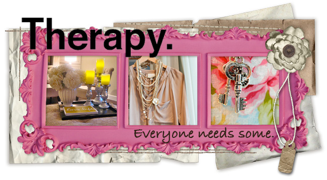 Therapy.  Everyone needs some.