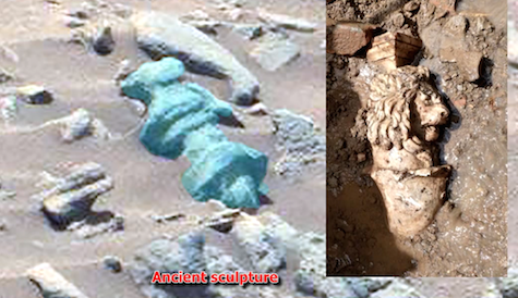Proof Aliens lived on Mars! Ancient Egyptian Warrior Woman