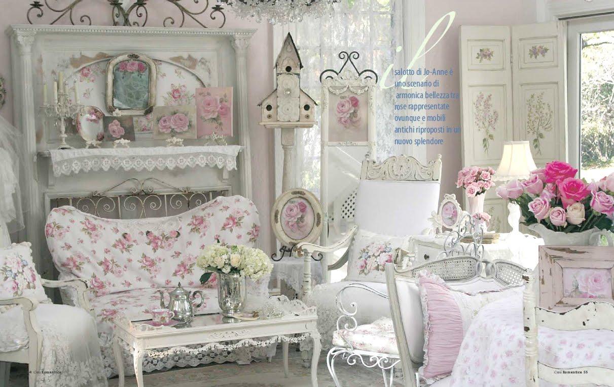 Cat Rumah Shabby - mendesain ruangan cantik dan feminim dengan model shab chic innovative living room decoration