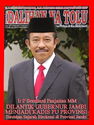 Profile Ir P Bernhard Panjaitan MM Di Majalah DNT