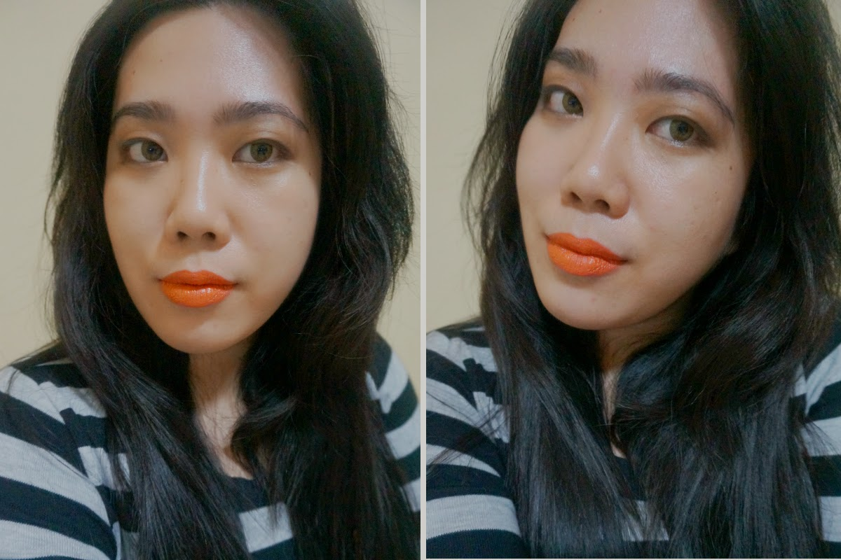 Wet n Wild Mega Last Matte Lip Cover in 24 Carrot Gold lip swatch