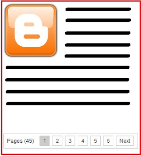 page number pada blog