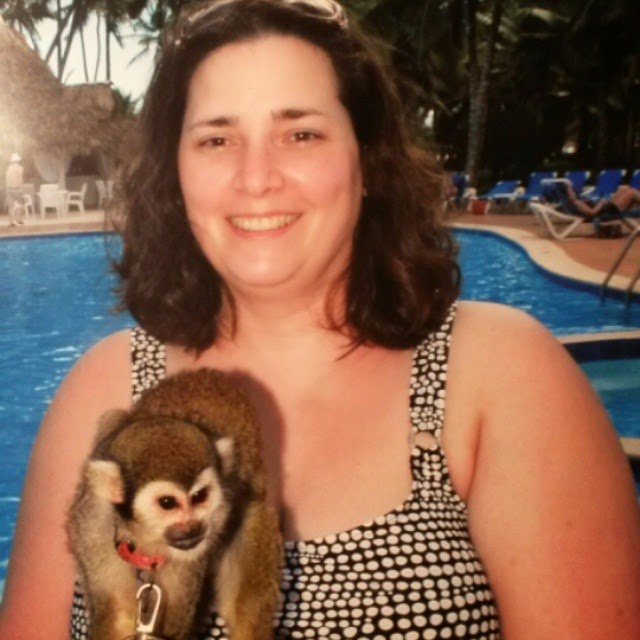Maria the monkey - Dominican trip - copyright Chrystal Scales