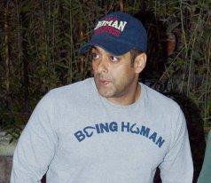 Salman Khan at Dabangg2 screening
