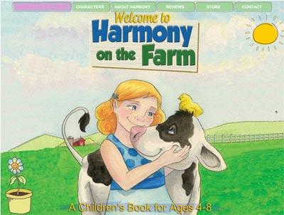 Harmony on the Farm Website