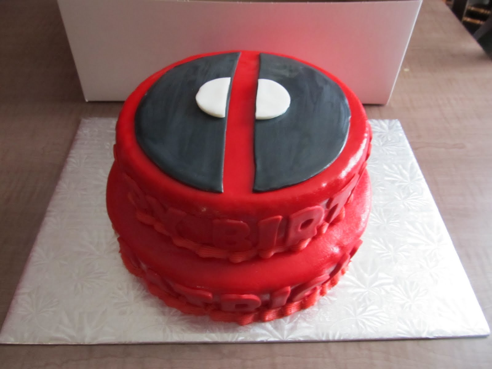 Deadpool Cake Cake Ideas And Designs