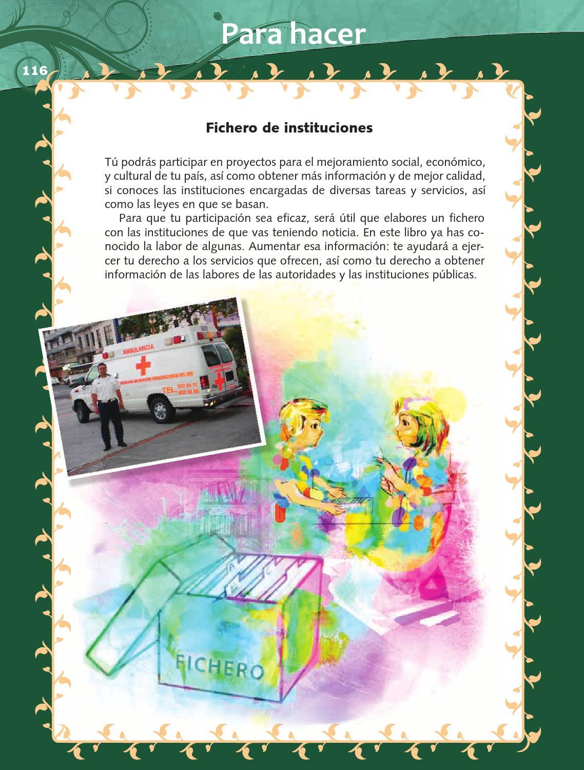Para hacer - Formación Cívica y Ética 4to Bloque 5 2014-2015