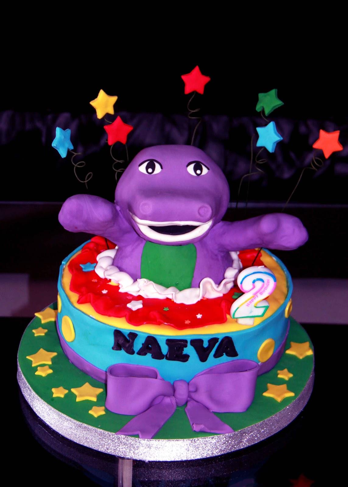 barney cake - photo #25
