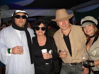 Sonia Freitas e esposo