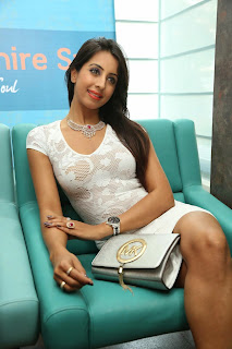 Sanjjanaa Pictures in Short Dress at Sapphire Spa Launch ~ Bollywood and South Indian Cinema Actress Exclusive Picture Galleries