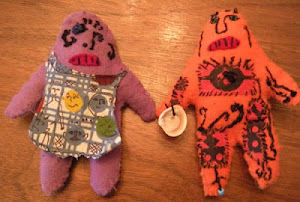 More Recent Felt Dollies