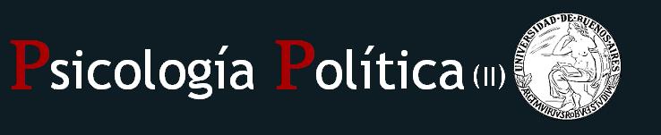 Psicología Política (II)