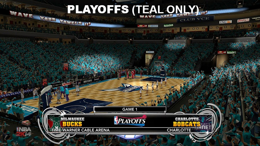 CHA Bobcats to Hornets Mod