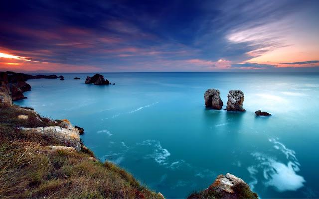 Marine Deep Blue Ocean