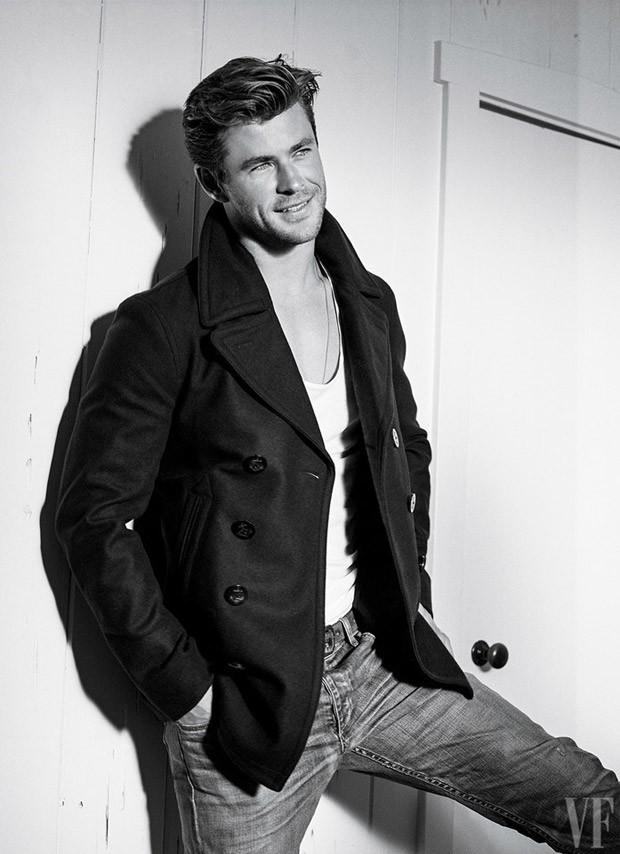 Chris Hemsworth for Vanity Fair by Bruce Weber