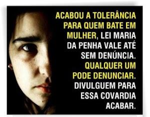 LEI MARIA DA PENHA: AGORA VOCÊ PODE E DEVE DENÚNCIA...