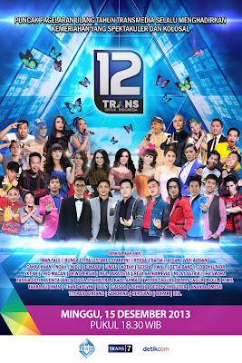 LIVE STREAMING 12 Trans Untuk Indonesia