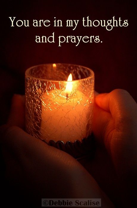 prayers are with you