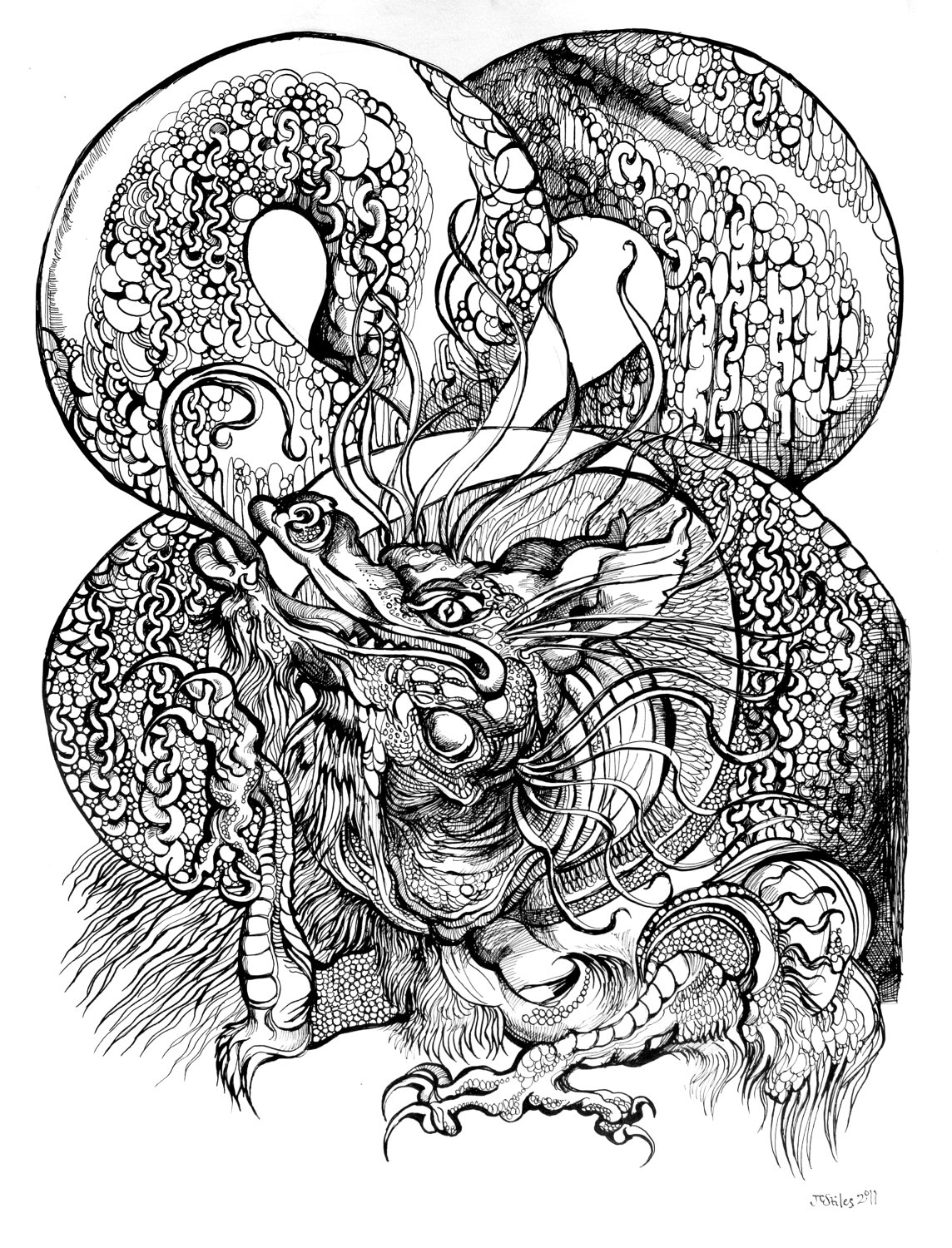 Japanese dragon tattoo all tattoos design for Dragon tattoo drawings