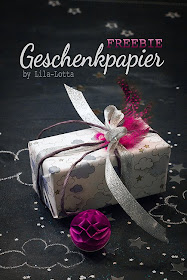 Freebie  Geschenkpapier