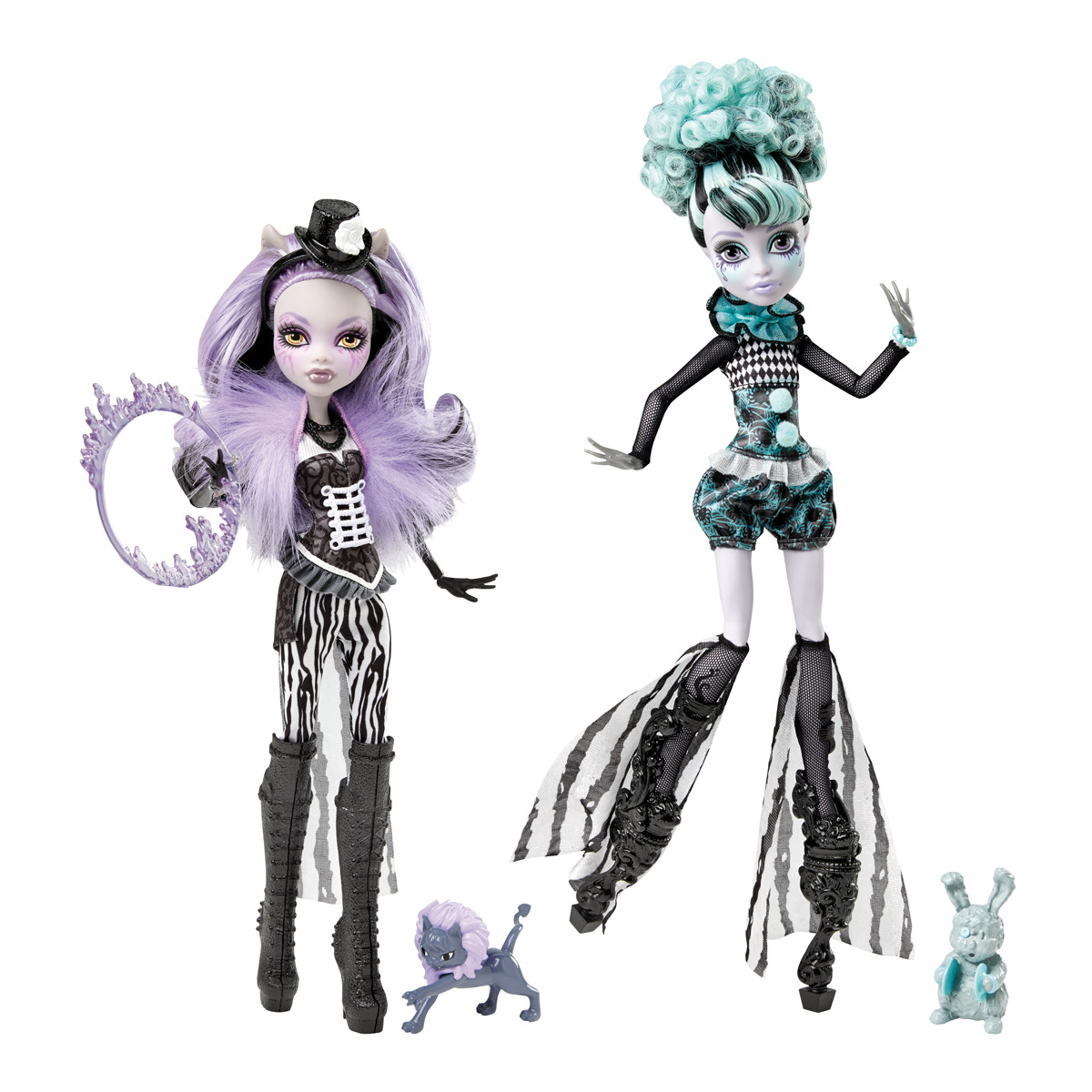 Monster High-Pretty : Muñecas Monster High Circo de las Monstruitas ...
