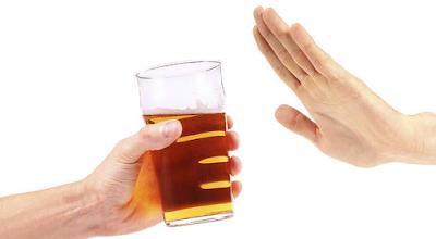 menolak alkohol