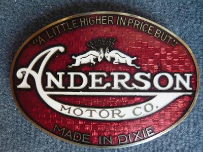 Anderson Radiator Emblem