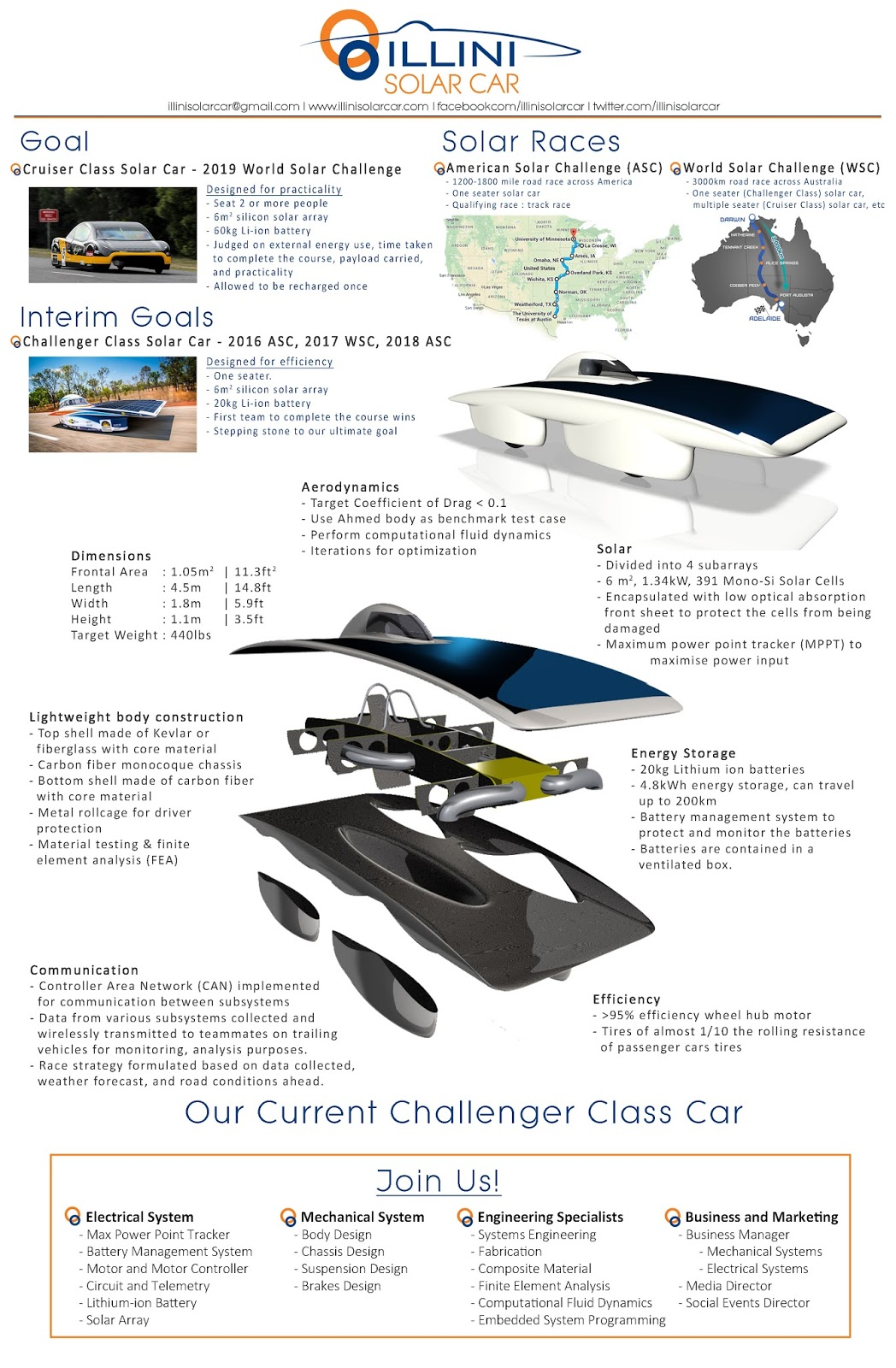 Check Us Out On Quad Day From 12 To 4 23 Aug Illini Solar Car Diagram