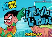 juego Teen Titans Go Entrando en la torre