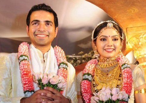 FILM ACTRESS SAMVRUTHA SUNIL WEDDING PHOTOS