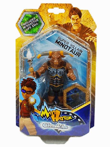JUGUETES - Matt Hatter Chronicles  Minotauro | Minotaur | Figura - Muñeco | Super Villanos  Producto Oficial Serie Clan | A partir de 3 años