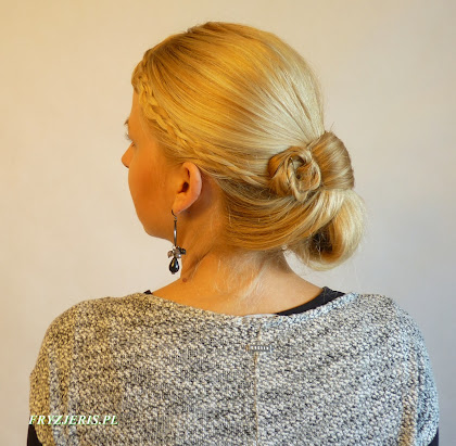 Kok na włosach brązowych i blond - zdjęcie