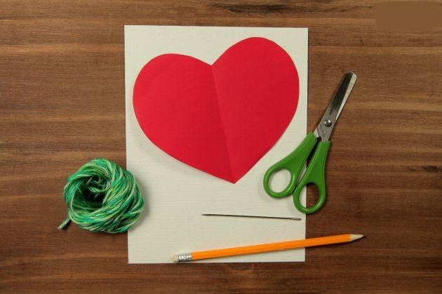 Manualidades: Tarjeta casera para el día de los enamorados - Manualidades De Tarjetas De Amor